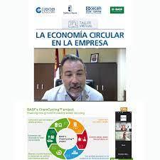 Los empresarios de la provincia se informan sobre el plan de acción y la estrategia de la economía circular de la mano de la Consejería de Desarrollo Sostenible de la JCCM y BASF