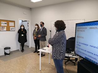 EFA El Llano inaugura el aula destinada al ciclo de FP de Grado Superior de Transporte y Logística