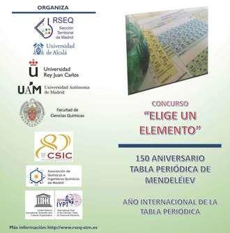 Estudiantes del IES Profesor Domínguez Ortiz de Azuqueca de Henares, ganadores del Concurso 'Elige un Elemento'