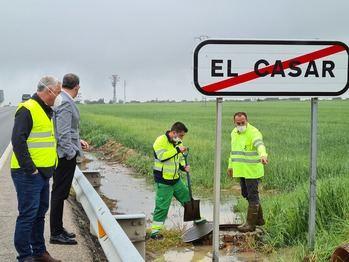 El Casar pide la declaración de zona catastrófica tras la tormenta del martes