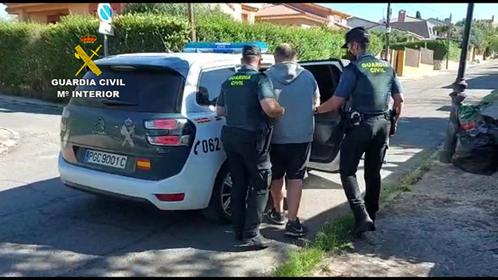 """La Guardia Civil detiene en El Casar a una persona por cultivo de 787 plantas de marihuana """"indoor"""""""