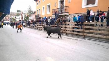 El alcalde de Almoguera quiere este verano un Encierro por el campo en su pueblo si la Junta de Page...lo autoriza