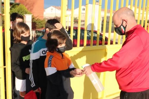 Medidas de seguridad y mucha ilusión en el arranque de las Escuelas Deportivas Municipales de Cabanillas