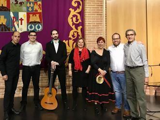 La Escuela de Folklore de la Diputación de Guadalajara ofreció una animada