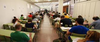 Comienzan los exámenes en la UNED Guadalajara