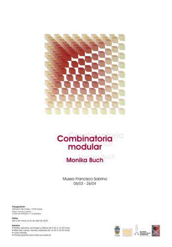 Este viernes se inaugura en Guadalajara la exposición Combinatoria Modular Monika Buch