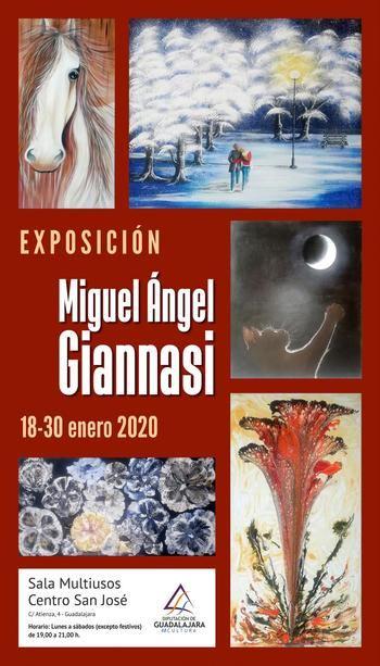 Exposición de pintura de Miguel Ángel Ginnasi Folcia en Guadalajara