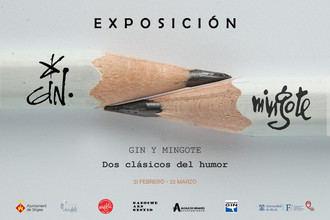 Nueva exposición en Santa María La Rica: 'Gin-Mingote. Dos clásicos del humor', un homenaje a dos vidas dedicadas al humor gráfico