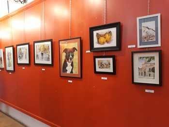 Exposición colectiva de la Asociación de Pintores de Sigüenza en San Roque