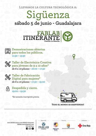 El FabLab Itinerante, este sábado, en Sigüenza