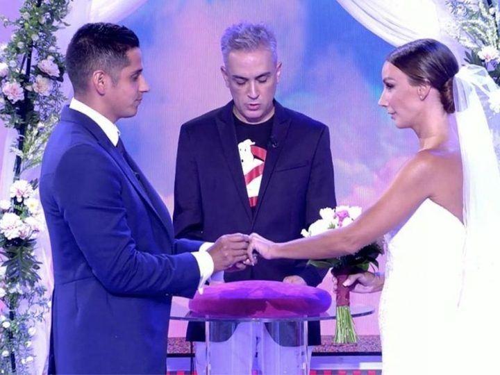 SEMANA Fani y Christofer se casan en directo en 'Sálvame'