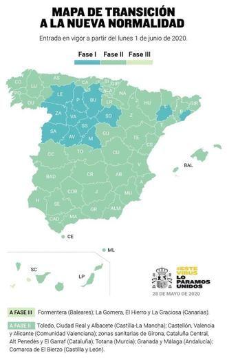 Albacete, Ciudad Real y Toledo pasan el próximo lunes a la fase 2 de la desescalada