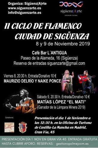 Sigüenza se pone flamenca en noviembre