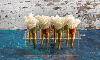 Sorprender y triunfar en cualquier evento con Flores de Queso