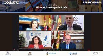 """Más de 300 empresarios del sector logística y el transporte se dan cita en el I Foro Online """"Logistics Spain"""""""