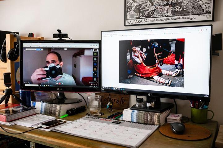 Culmina el ciclo de videoconferencias de la Escuela de Fotografía de Cabanillas, con casi 500 conexiones a las charlas