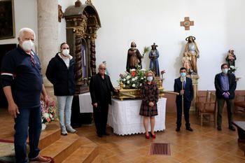 Fuentenovilla ha celebrado de manera emotiva y especial, por la pandemia, sus fiestas de mayo