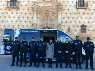 El Ayuntamiento de Guadalajara incorpora un nuevo furgón de atestados para la Policía Local con una inversión de 65.000 euros
