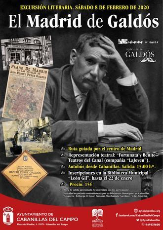 La Biblioteca León Gil de Cabanillas organiza una excursión al