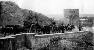 Exposición virtual de fotografías antiguas para destacar la relación de Galdós con Toledo