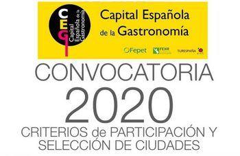 El 20 de noviembre se elegirá la capital española de la Gastronomía 2020