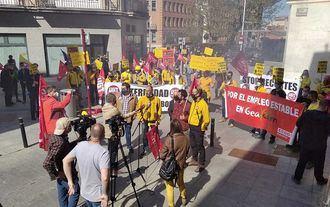 Los trabajadores de Geacam se MOVILIZAN este miércoles en Guadalajara