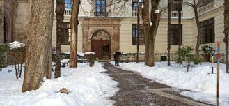 Todos los colegios de la provincia tienen clase presencial salvo La Arboleda de Pioz y 15 rutas escolares se han visto afectadas por el hielo