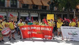 Sigue el conflicto de la Junta de Page con los 2.700 trabajadores afectados de GEACAM