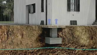Recalce de edificio de vivendas de protección oficial sito en Guadalajara, mediante técnicas micro invasivas
