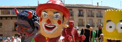 LETRAS VIVAS SEGUNTINAS : Gigantes y Cabezudos en Sigüenza
