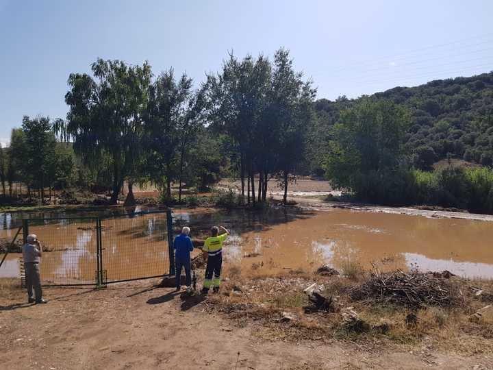 La Diputación de Guadalajara valora en más de medio millón de euros los daños en 120 kilómetros de caminos rurales por la gota fría de septiembre