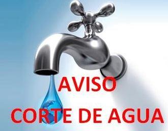 AVISO : Corte de suministro de agua el viernes 16 de octubre en varias calles de la zona centro de Guadalajara por reparaciones en la red de abastecimiento
