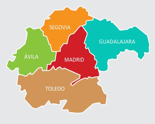 Guadalajara estaría en los planes de Moncloa de semiconfinar Madrid...este martes