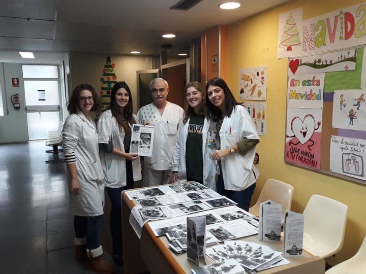 Más de 500 usuarios del centro de salud Guadalajara-Sur han recibido información con consejos para pasar una Navidad ligera y saludable