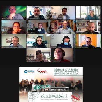 Arrancan las reuniones de GUADANETWORK en 2021, de forma virtual, con el objetivo de crear sinergias para los empresarios de Guadalajara