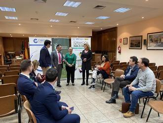 Los empresarios de Alovera se informan de la Formación Profesional para el empleo en un nuevo Encuentro de GuadaNetWork
