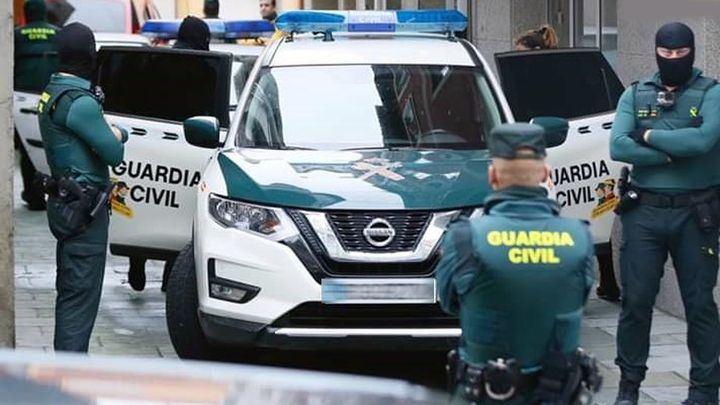 La Guardia Civil y la Europol realizan varios registros en Guadalajara desarticulando una organización delictiva internacional dedicada al tráfico de drogas