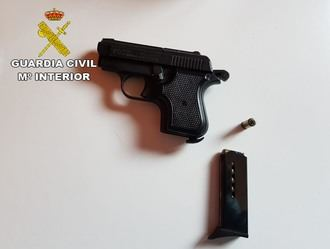 La Guardia Civil de Guadalajara detiene a 14 personas relacionadas con delitos de robo con violencia e intimidación, tenencia ilícita de armas y cultivo de marihuana