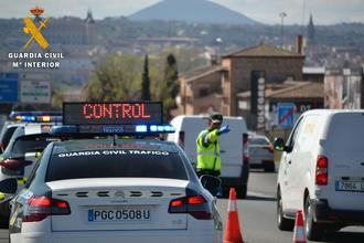 Guardia Civil intensifica los controles en las carreteras de la provincia de Toledo