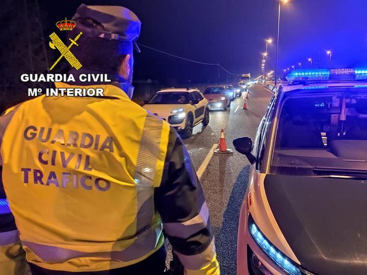 La Guardia Civil de Guadalajara investiga a un conductor como presunto autor de un delito de homicidio por imprudencia grave