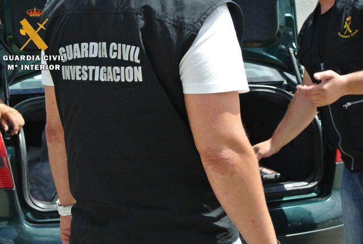 La Guardia Civil ha detenido a cuatro personas por robar prendas de vestir valoradas en 12.000 euros