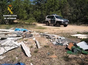 El SEPRONA desarticula en Guadalajara una empresa que gestionaba irregularmente residuos peligrosos