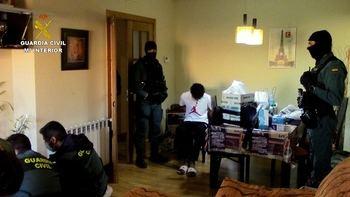 La Guardia Civil de Toledo detiene a cinco miembros de la banda latina Dominican Don't Play por intento de homicidio
