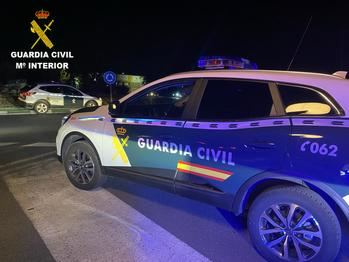 La Guardia Civil de Toledo detiene a tres personas en su huida tras un intento de robo en una vivienda con moradores