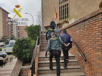 Gracias a la colaboración ciudadana, la Guardia Civil detiene a dos personas en Guadalajara por robo en Torija