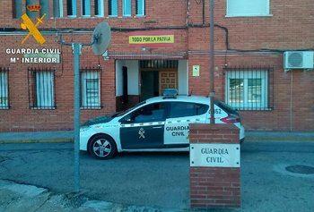 La Guardia Civil detiene a un hombre por 12 delitos cometidos en la localidad de Villacañas