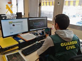 La Guardia Civil investiga a una persona por simular una estafa de más de 5.000 euros en apuestas online