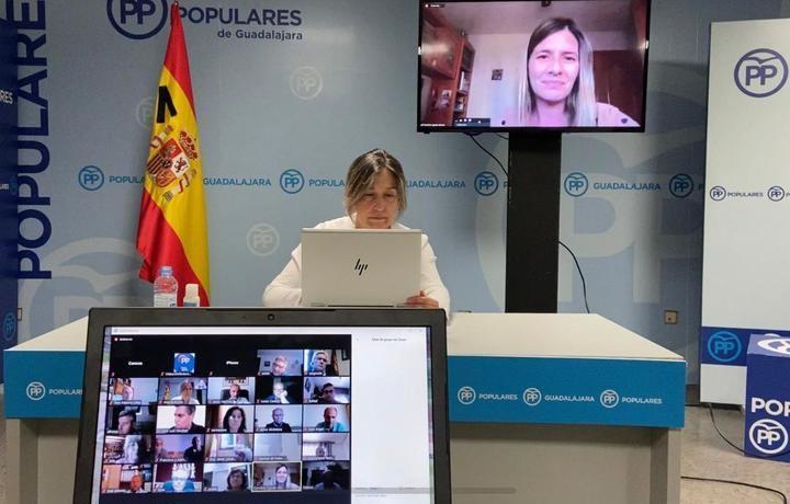 """Guarinos muestra su """"orgullo y agradecimiento"""" a los alcaldes del PP por su trabajo, cercanía y responsabilidad durante la crisis sanitaria del Covid19"""