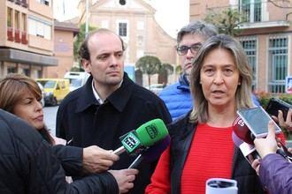Guarinos denuncia recortes en educación y reprocha al socialista Page que mienta a los vecinos de Torrejón del Rey
