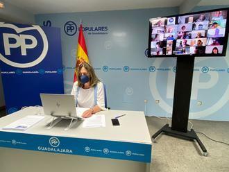 Guarinos anuncia que no volverá a optar a la reelección como Presidenta del PP de Guadalajara